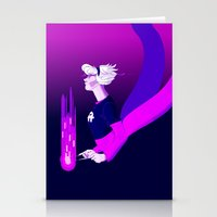 homestuck Stationery Cards featuring Grimdark Rose by Briar