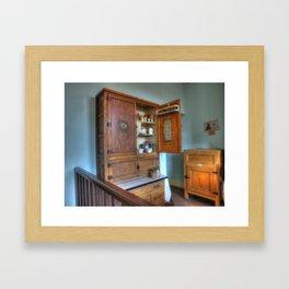 1930`s Kitchen Framed Art Print