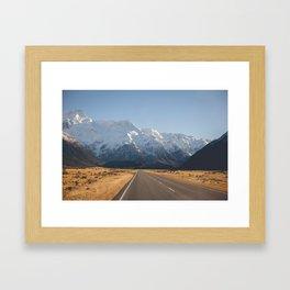 Mount Cook. Framed Art Print