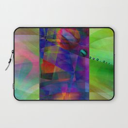 Abstract cylinder Laptop Sleeve