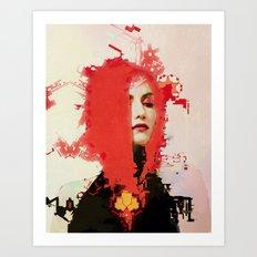 With regards (alt) Art Print
