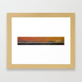 Unicycles Framed Art Print