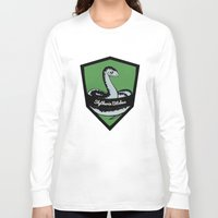 slytherin Long Sleeve T-shirts featuring Slytherin Bitches! by Emma Ehrling