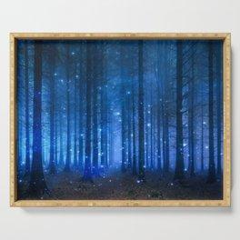 Dreamy Woods II Serving Tray