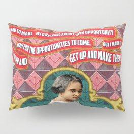 Madam C.J. Walker Quote Pillow Sham