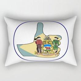 Thumbs Up Delaware Rectangular Pillow