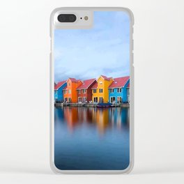 HOUSES Clear iPhone Case
