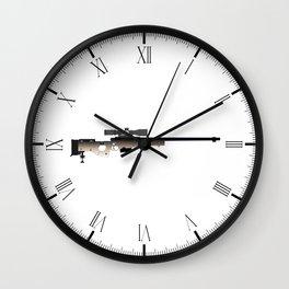 Sniper Rifle Wall Clock