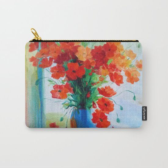 Bouquet of poppies Carry-All Pouch