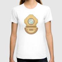 scuba T-shirts featuring Scuba by CaseyIllustrates