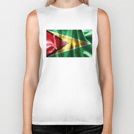 Guyana Flag Biker Tank