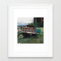 ford Framed Art Prints featuring Ford by Dane Peterson