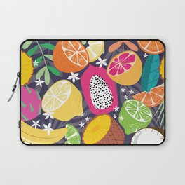 Tropical fruit pattern 01 Laptop Sleeve