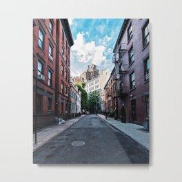 Gay Street, Greenwich Village Metal Print
