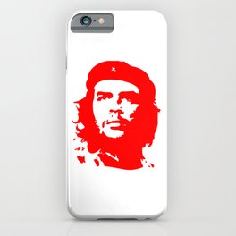 Che Guevara in Red iPhone Case