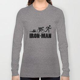 Iron-Man Triathlon Long Sleeve T-shirt