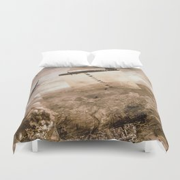 Study for Curvature  Duvet Cover