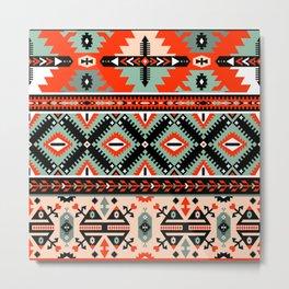 Navajo Pattern 2 Metal Print