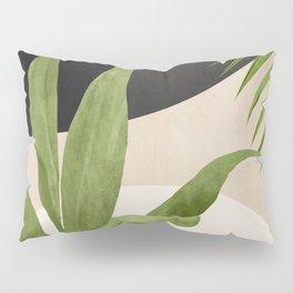 Abstract Art Tropical Leaf 11 Pillow Sham