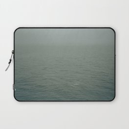 Foggy morning in NYC Laptop Sleeve