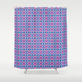 Colorful Tribal Shower Curtain