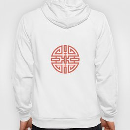 Cai / Wealth In Red And Chamois Hoody
