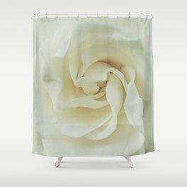 Gardenia Romance Shower Curtain