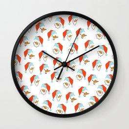 Santa Claus pattern Wall Clock