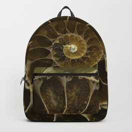 Fossil in brown tones Backpack