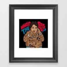 Who's the Boss? Framed Art Print