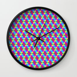 ColorCube Wall Clock