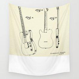 Guitar-1951 Wall Tapestry