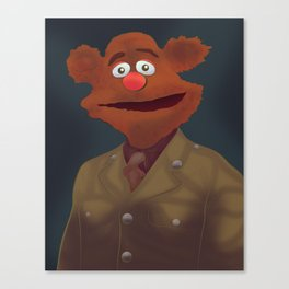Sir Fozzie Canvas Print