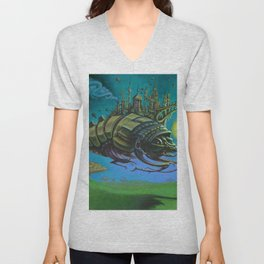 """Exodus"" -Adam France Unisex V-Neck"