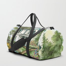 Garden House Duffle Bag