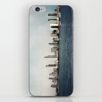 san diego iPhone & iPod Skins featuring San Diego  by Bree Madden