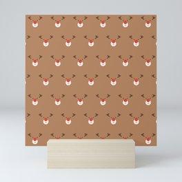 Rudolph Clones (Patterns Please) Mini Art Print