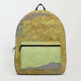 Vincent Van Gogh - Wheatfield With A Reaper Backpack
