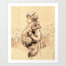 Le Petit Prince Art Print