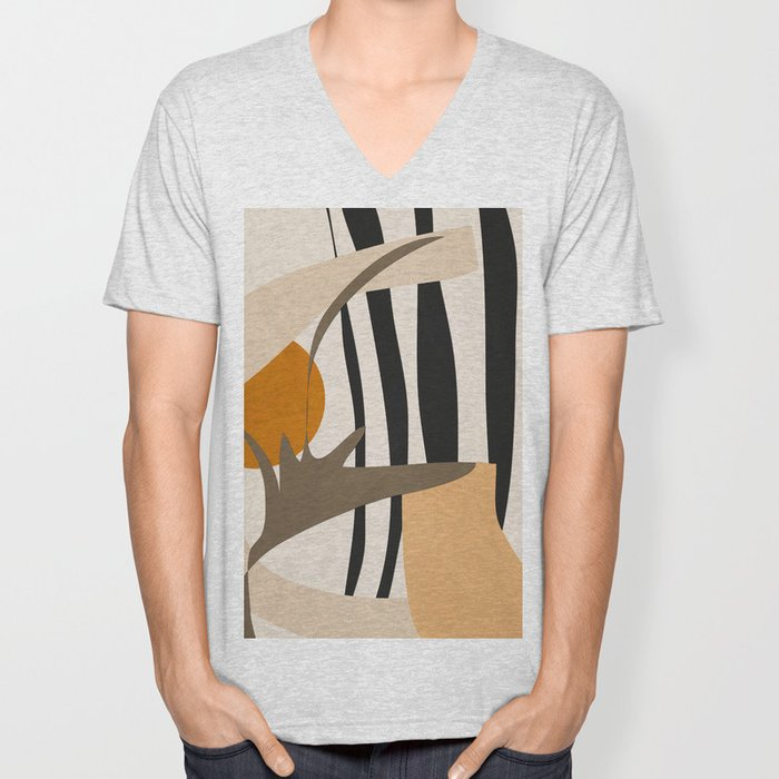 Abstract Art2 Unisex V-Neck