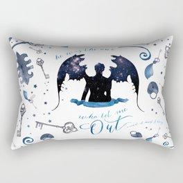 NO VILLAIN Rectangular Pillow