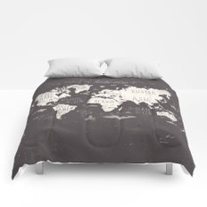 The World Map Comforters
