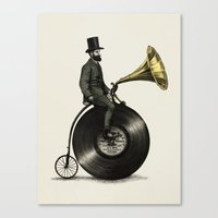 marianna Canvas Prints featuring Music Man by Eric Fan