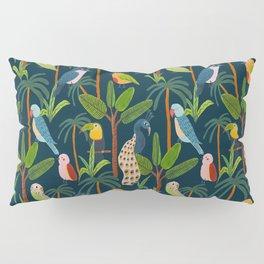 Jungle Birds Pillow Sham