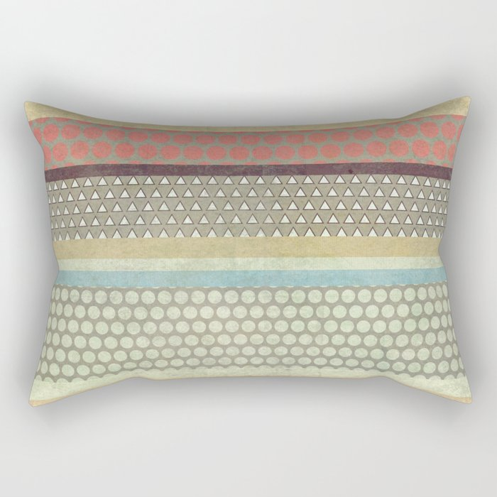 Patternwork IX Rectangular Pillow