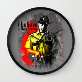 I believe in Rick Grimes Wall Clock