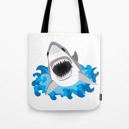 Shark Attack #2 Tote Bag
