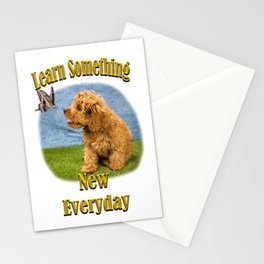Learn something new everyday Stationery Cards