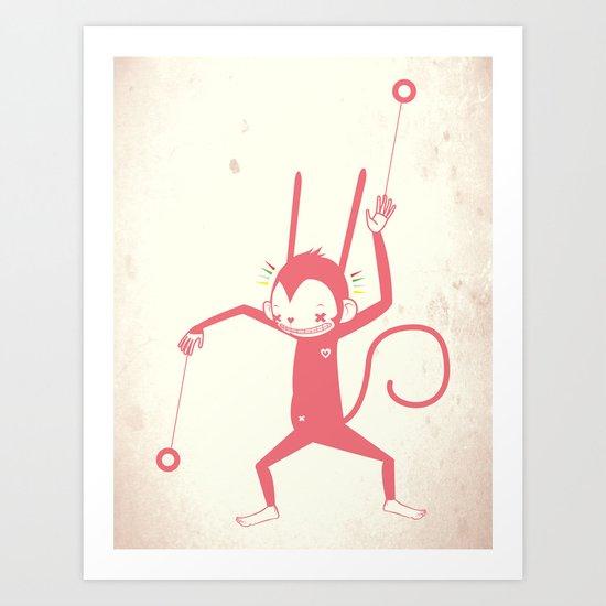 YO YO ♪ Art Print
