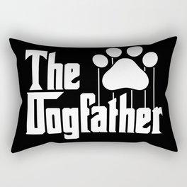 The Dogfather Rectangular Pillow